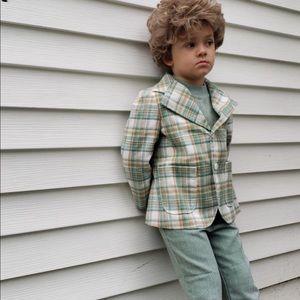 Vintage 70s Style Boys Costume